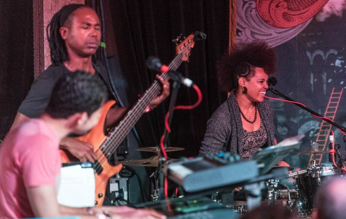 Yissy & Bandancha perform at The Sounds of Cuba at The Speakeasy on Friday, March 18, 2016 in Austin, Texas.   Erika Rich for American Statesman